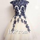 Elegant Applique Homecoming Dresses,Short Prom Dresses