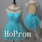 A-line Sweetheart Homecoming Dresses,Mini Prom Dresses