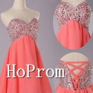 Sweetheart Short Homecoming Dresses,Bandage Prom Dresses