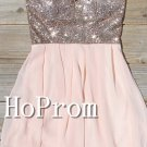 Sparkly Sequins Homecoming Dresses,Short Prom Dresses