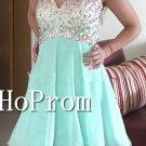 One Shoulder Homecoming Dresses,Short Chiffon Prom Dresses