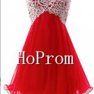 Strapless Mini Homecoming Dresses,A-Line Prom Dresses