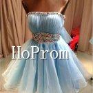 Sweetheart Short Homecoming Dresses,Lace Tulle Prom Dresses