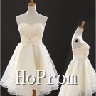 Strapless Chiffon Homecoming Dresses,A-Line Prom Dresses