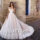 A-Line Applique Prom Dress,Floor Length Prom Dresses