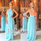 A-Line Prom Dress,Simple Chiffon Prom Dresses