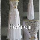 Strapless Chiffon Prom Dress,A-Line Prom Dresses