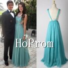 Simple Chiffon Prom Dress,A-Line Prom Dresses