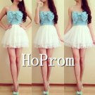 Spaghetti Straps Prom Dress,Short Mini Prom Dresses