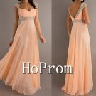 Backless Straps Prom Dresses,A-Line Prom Dress