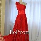 One Shoulder Prom Dresses,Royal Blue Prom Dress