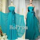 Strapless Prom Dresses,Chiffon Prom Dress