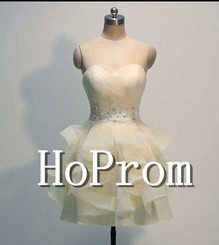 Short Mini Prom Dress,Bandage White Prom Dresses