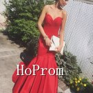 Sweetheart Mermaid Prom Dress,Floor Length Prom Dresses