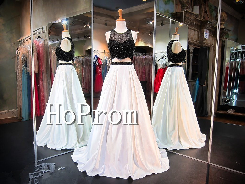 High Neck Sexy Prom Dress,Sleeveless Long Prom Dresses