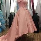 Pink High Low Sweetheart Homecoming Dress Party Dress
