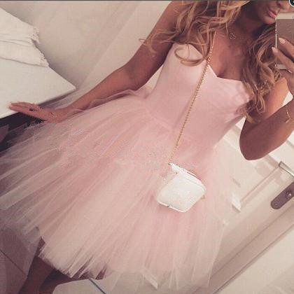 Sweetheart Homecoming Dress� Pink Homecoming Dresses