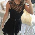 Black V Neck Lace Short Sexy Homecoming Dress , Homecoming Dress 2017