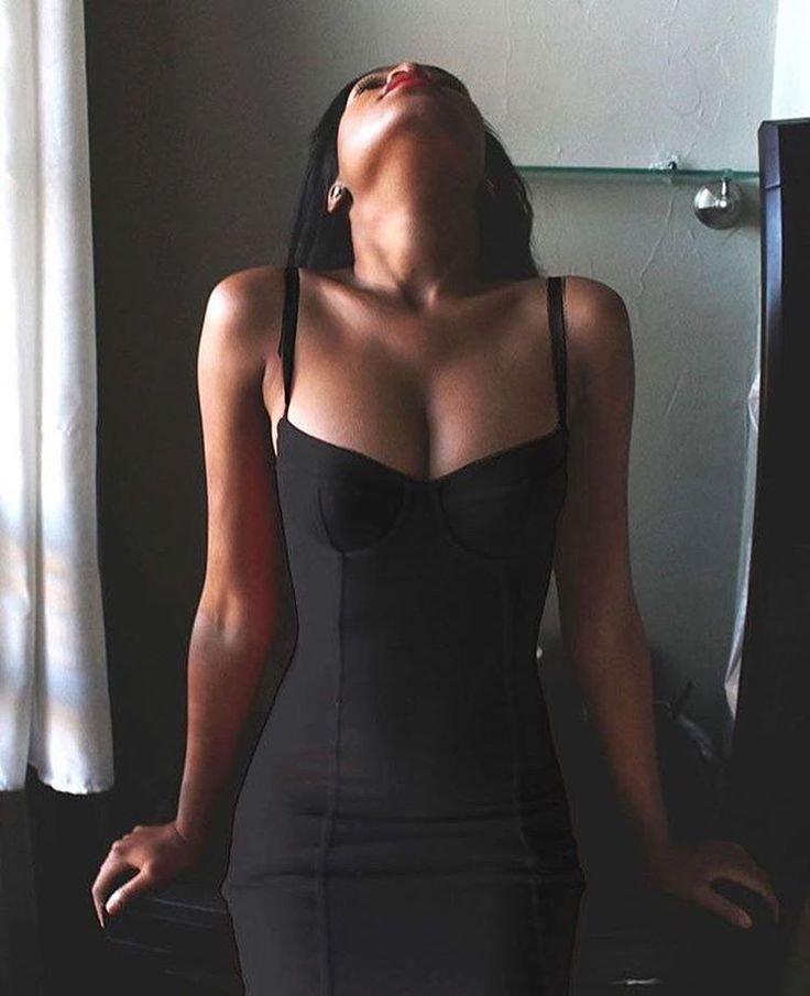 V Neck Sexy Summer Homecoming Dress, Black Homecoming Dress