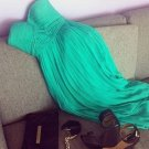 Green Sweetheart Homecoming Dress, Chiffon Homecoming Dress