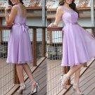 Chiffon A Line 2017 V Neck Lace Woman Dress Party Gowns