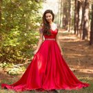 Sweetheart Off shoulder Prom Dress with Crystals