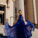 A Line Elegant Halter Prom Dresses Beading Evening Dresses