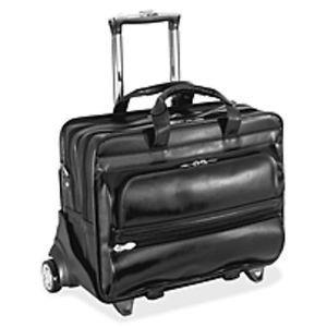 Detachable-Wheeled Laptop Case - Shoulder Str