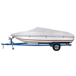 Dallas Manufacturing Co. Reflective Polyester Boat Cover A - Fits 14-16 V-Hull F
