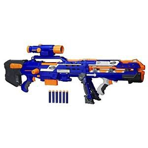 Nerf N-Strike Elite Longshot CS-6 Blue