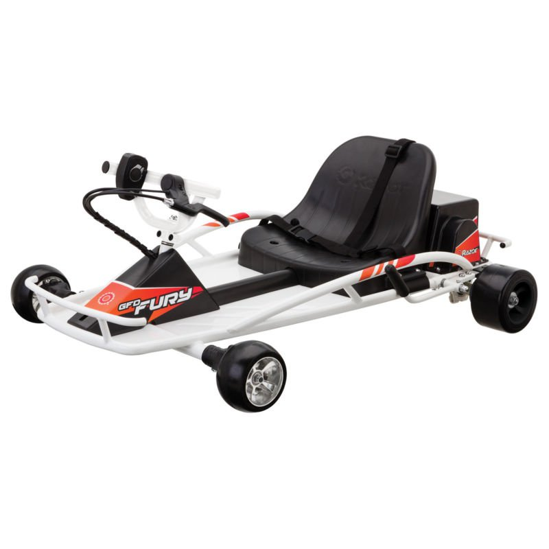 Electric Scooter Ground Force Drifter Fury Ride-On Cart Toy Car Vehicle Kids New