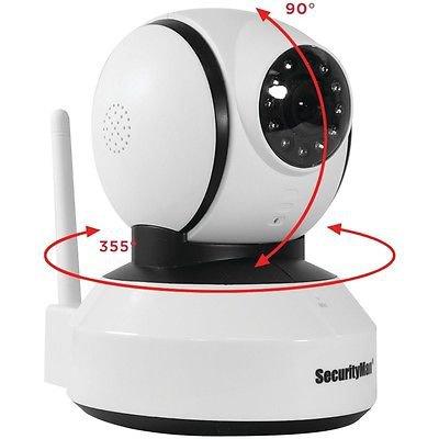 Indoor Pan/Tilt Digital Wireless Camera