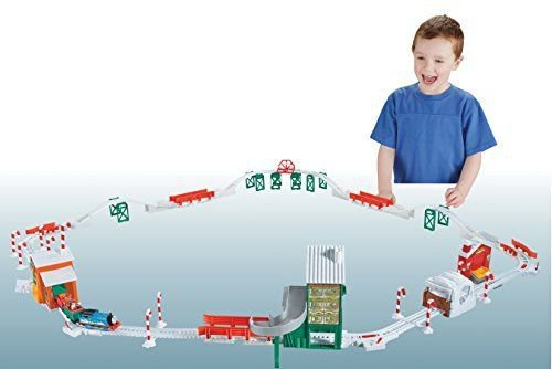 Thomas the Train Track Master Holiday Cargo Delivery Set Christmas Train New