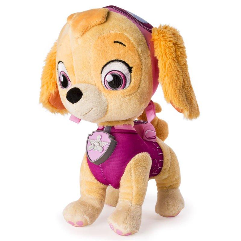 Paw Patrol, Real Talking Skye Plush Toy Kids Learning Toys