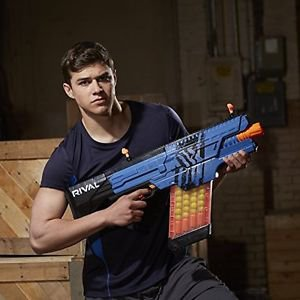 Nerf Rival Khaos Blaster (Blue) Kids Pistol Gun Toy Action Outdoor New