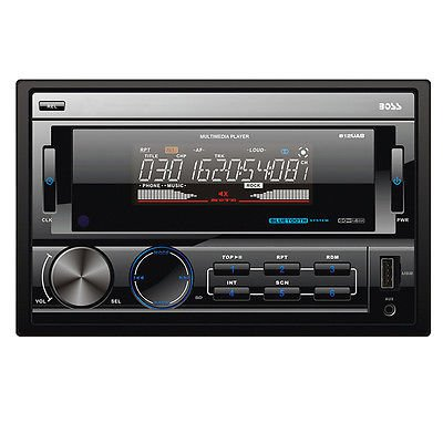 Audio Bluetooth Enabled Double-DIN In-Dash MP3-Compatible Digital