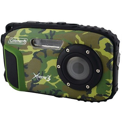 20.0 MP/HD Waterproof Digital Camera-Camouflage