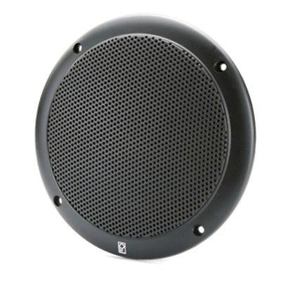 2-Way Coax-Integral Grill Speaker - (Pair) Black