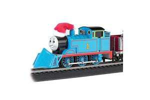 Trains Thomas Christmas Express Train Set, HO Scale Holiday Decoration New