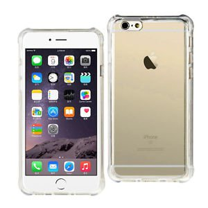 Reiko Iphone 6/6S 4.7Inches Transparent TPU Case With Air Cushion Shock Absorpti