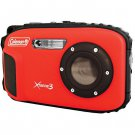 20.0 MP/HD Waterproof Digital Camera-Red
