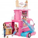Barbie Playset  RV Vehicle Pop-Up Camper 2 Seats Upfront w/ Seatbelts 3 Story
