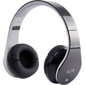 Bluetooth Stereo Headphones w/Microphone - Black