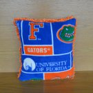 SEC University of Florida UF Gators Furry Fleece College Dorm Throw Pillow Tailgating Fun