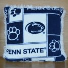 NEW Handmade NCAA Big 10 PENN STATE NITTANY LIONS FLEECE and FUR Throw PILLOW
