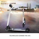 Cool&Fun Electric Scooter Segway Smart Balance Board 2 Wheel Hover Board Scooters Hoverboard White