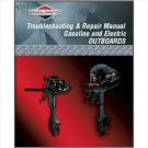 Briggs & Stratton 5 HP Outboard Motor Service Repair Manual CD