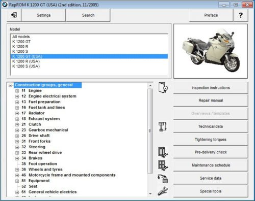 bmw s1000rr motorcycle service manual multilingual