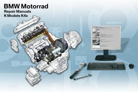 2009-2011 BMW K1300GT K1300R K1300S RepROM Service Manual DVD - Multilingual