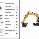 JCB JS130 JS160 Excavator Service Workshop Manual on a CD --- JS 130 160